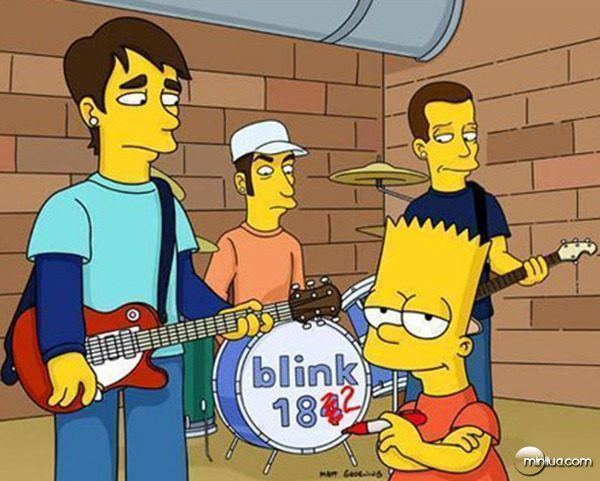 Blink 182 no seriado Os Simpsons