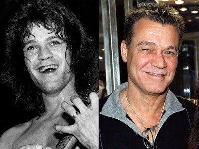eddie van-halen-roqueiros-famosos-antes-e-depois-rock-na-veia