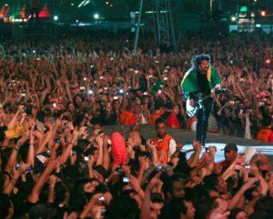 Foo Fighters no Brasil em 2012
