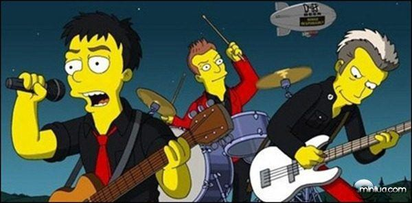 Green Day no seriado Os Simpsons