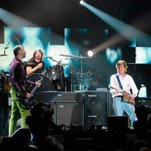 Nirvana e Paul mccartney em 2012