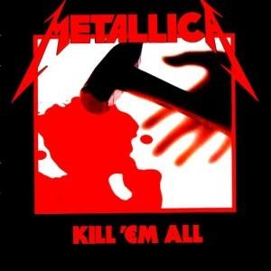 Capa do album Kill em All lançado em 1983