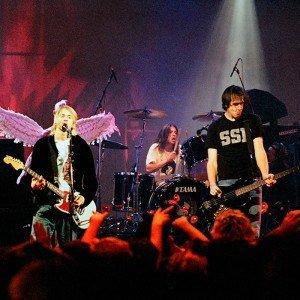 Nirvana tocando no Live in Loud 1993 em Seatle