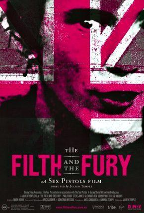 O lixo e a furia: A historia dos Sex Pistols lançando em 2000 contando toda a trajetória da banda