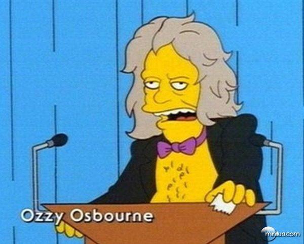 Ozzy Osbourne no seriado Os Simpsons