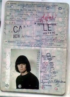 passaporte de famosos dee dee ramone rock na veia