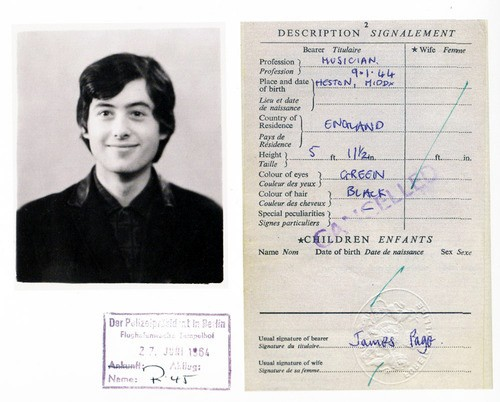 passaporte de famosos jimmy page rock na veia