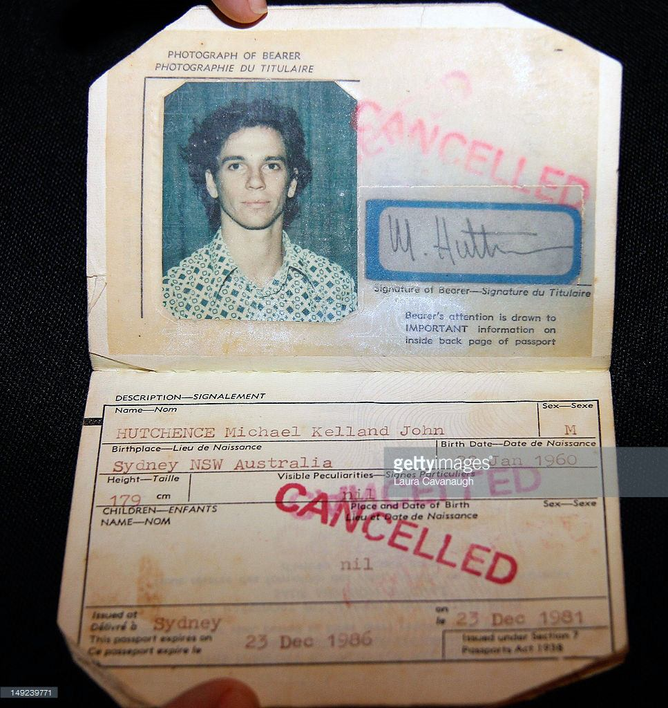 passaporte de famosos michael hutchence rock na veia