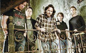 Pearl Jam com sua formação atual