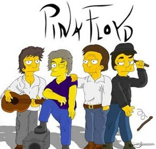Pink Floyd no seriado Os Simpsons