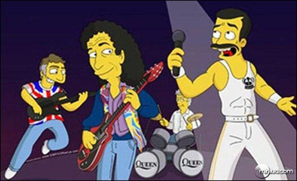 QUEEN no seriado Os Simpsons