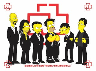 Rammstein no seriado Os Simpsons