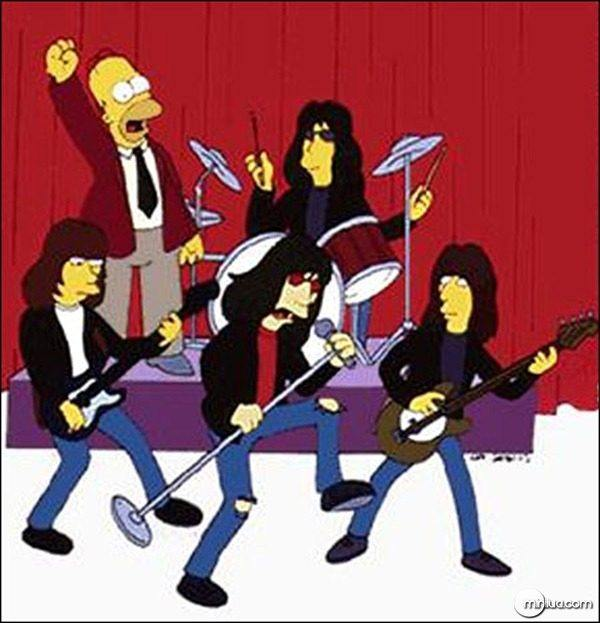 Ramones no seriado Os Simpsons