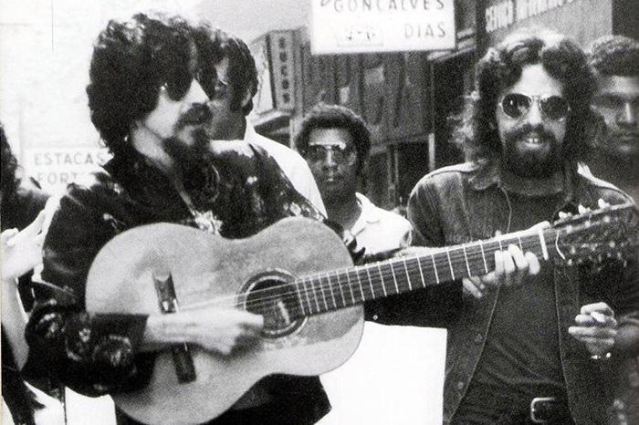 Duplas do rock Raul Seixas e Paulo Coelho Rock na Veia