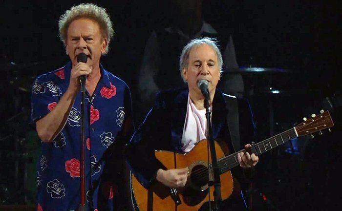 Duplas do rock Simon e Garfunkel Rock na Veia