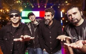System of a Down em foto promocional