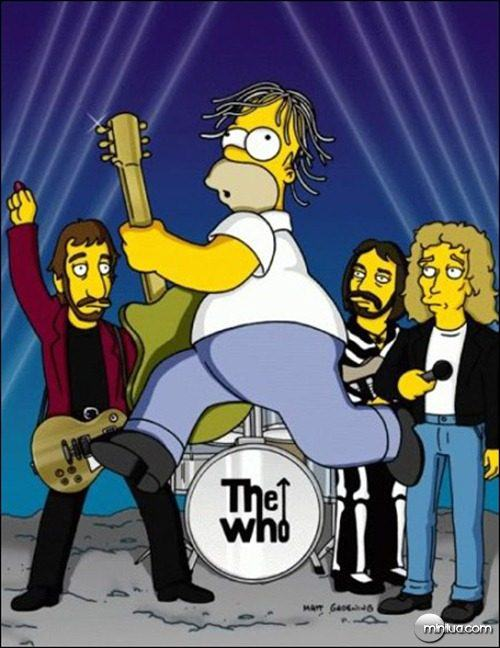 The Who no seriado Os Simpsons