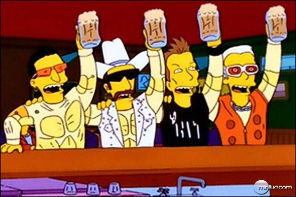U2 no seriado Os Simpsons
